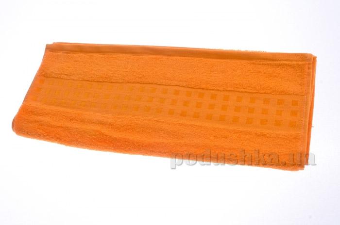 Полотенце махровое Maisonette Zero Twist оранжевый