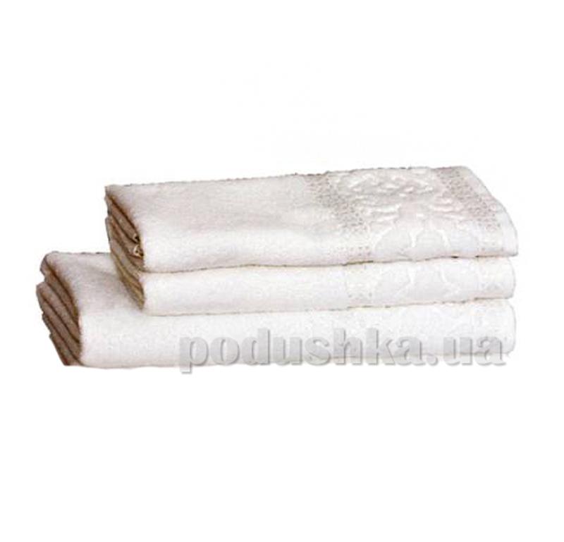Полотенце махровое Home Line Мел тэм белый