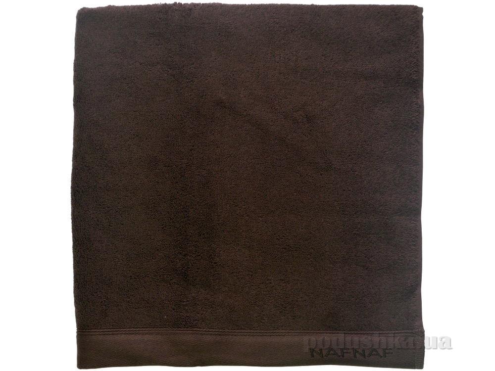 Полотенце махровое Naf Naf Casual темно-коричневый