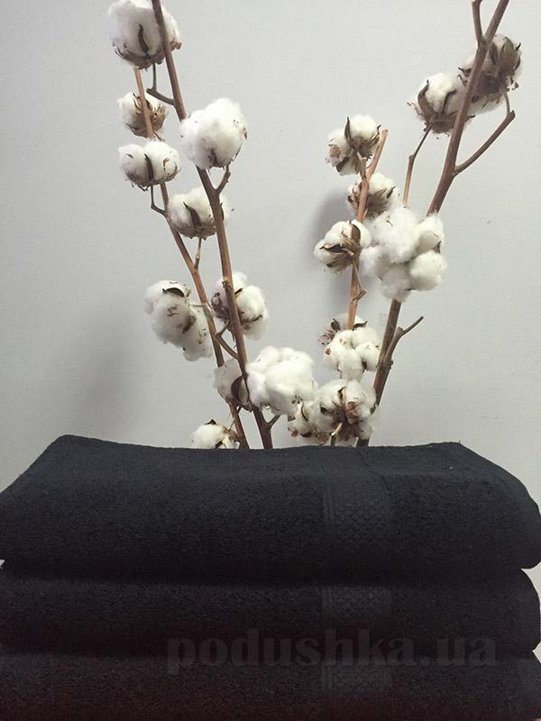 Полотенце махровое Nostra 550 Black черное