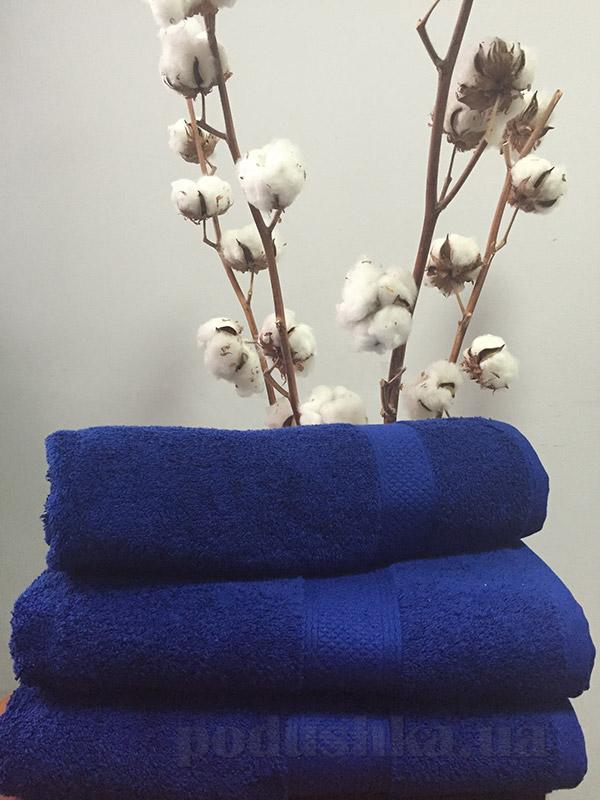 Полотенце махровое Nostra 550 Bluemarine синее