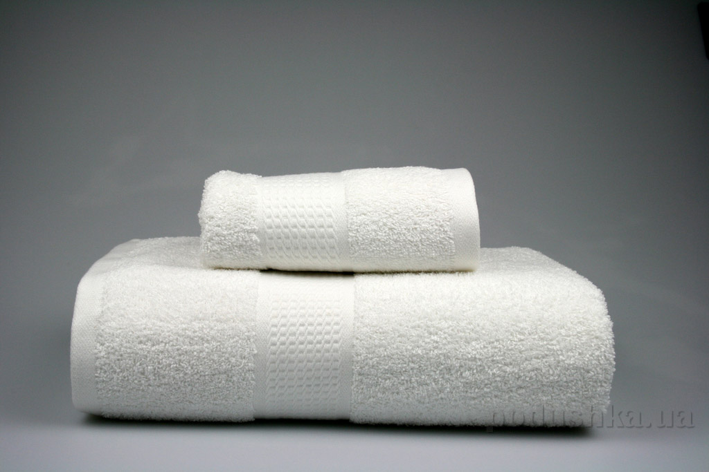 Полотенце махровое Home line белое 40х70 см  Home line