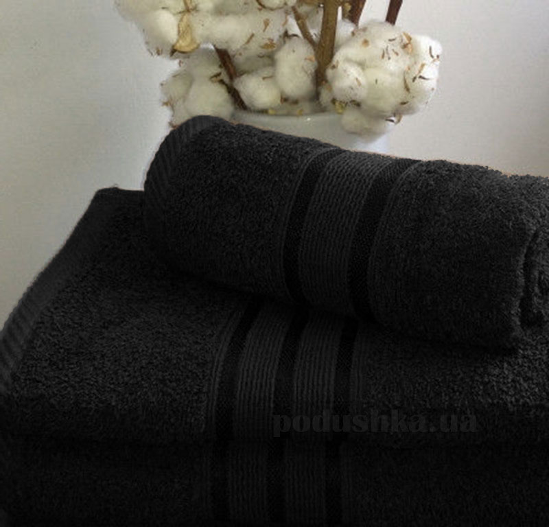 Полотенце махровое Nostra Black