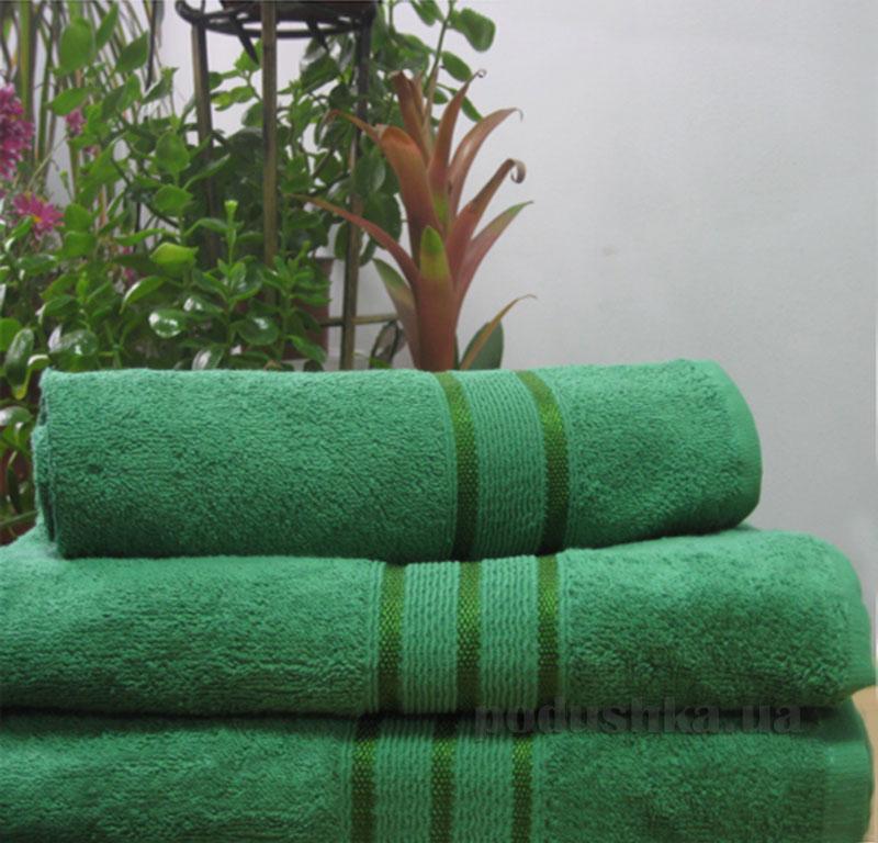 Полотенце махровое Nostra Dark Green