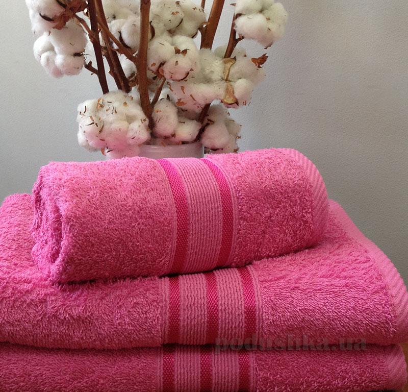 Полотенце махровое Nostra Pink
