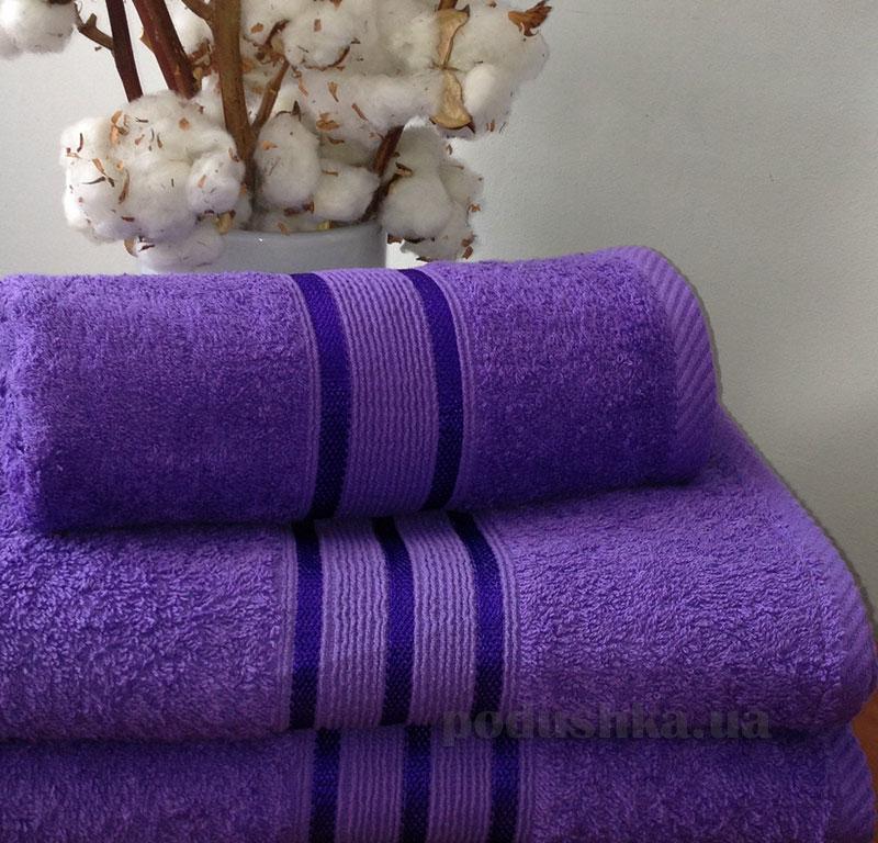 Полотенце махровое Nostra Purple фиолетовый