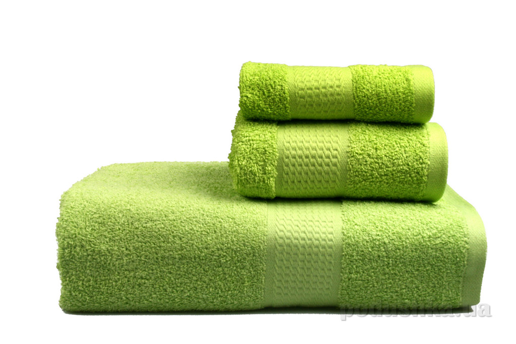 Полотенце махровое Home line зелёное 75х135 см  Home line