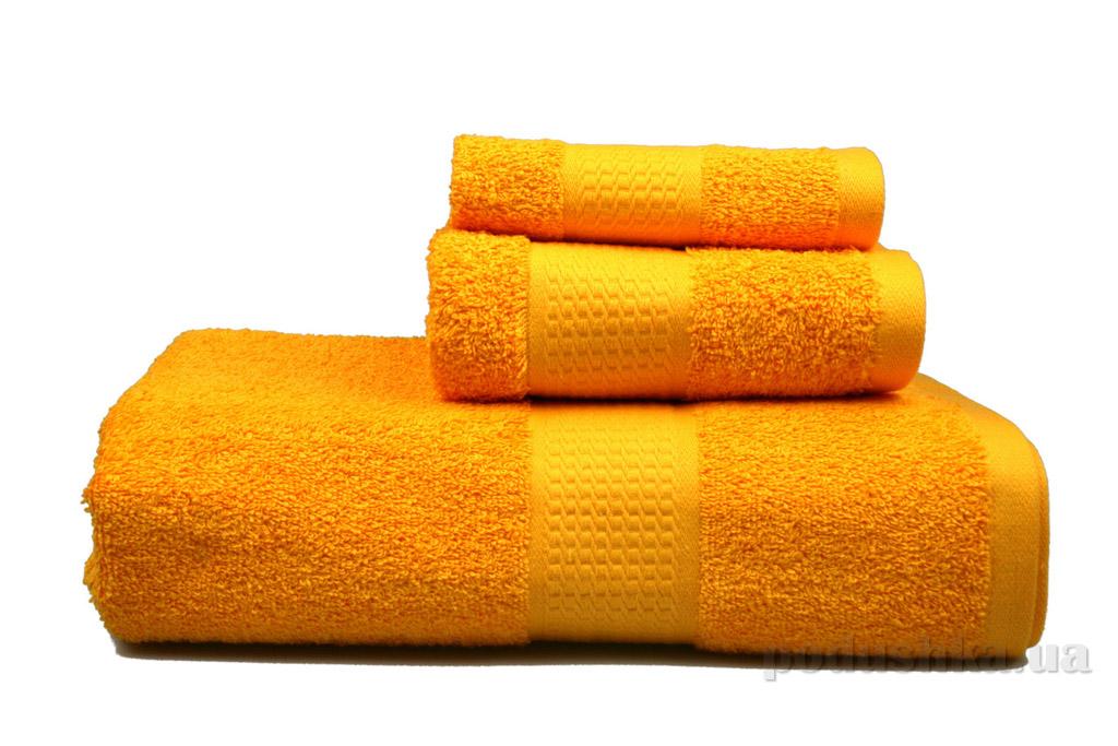 Полотенце махровое Home line желтое