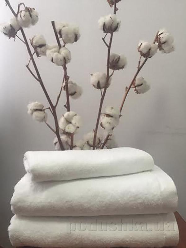 Полотенце махровое отельное белое