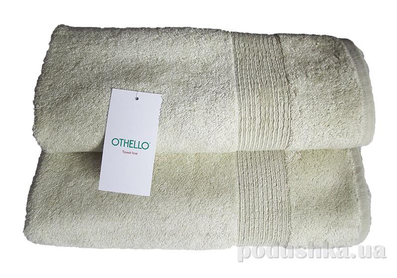 Полотенце махровое Othello Minerali нежно-зеленое