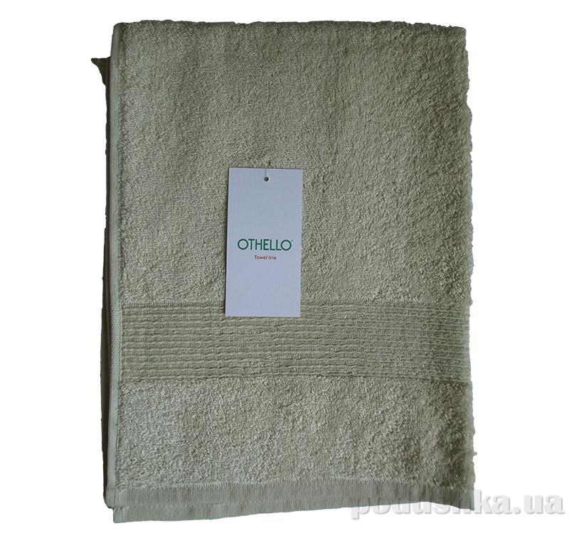 Полотенце махровое Othello Minerali оливковое 70х140 см  Othello