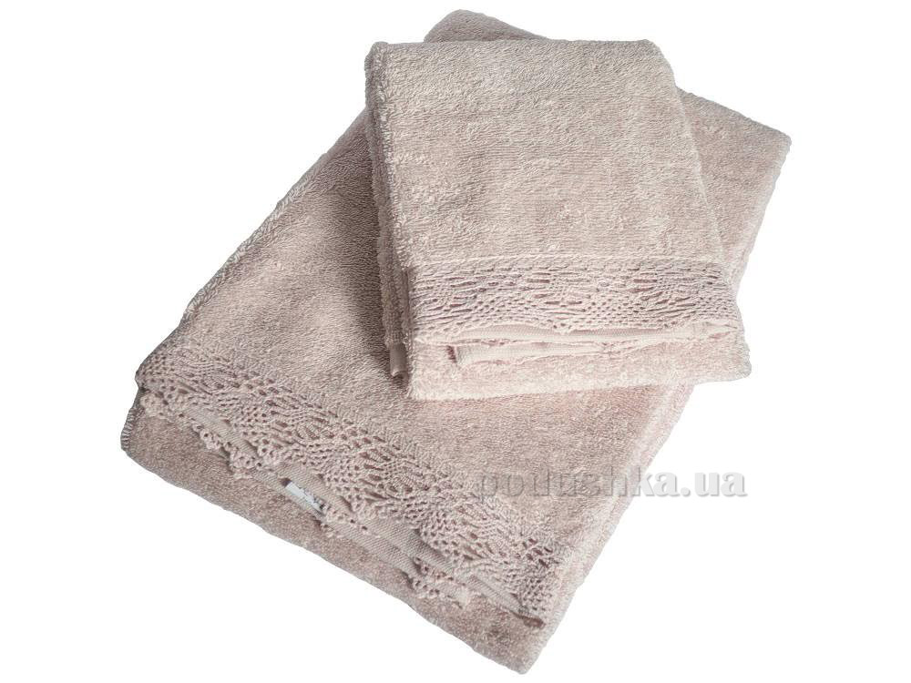 Полотенце махровое Pavia Diana pudra