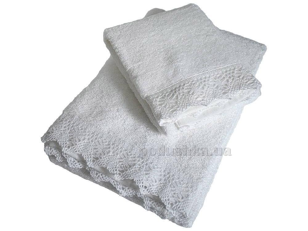 Полотенце махровое Pavia Diana white