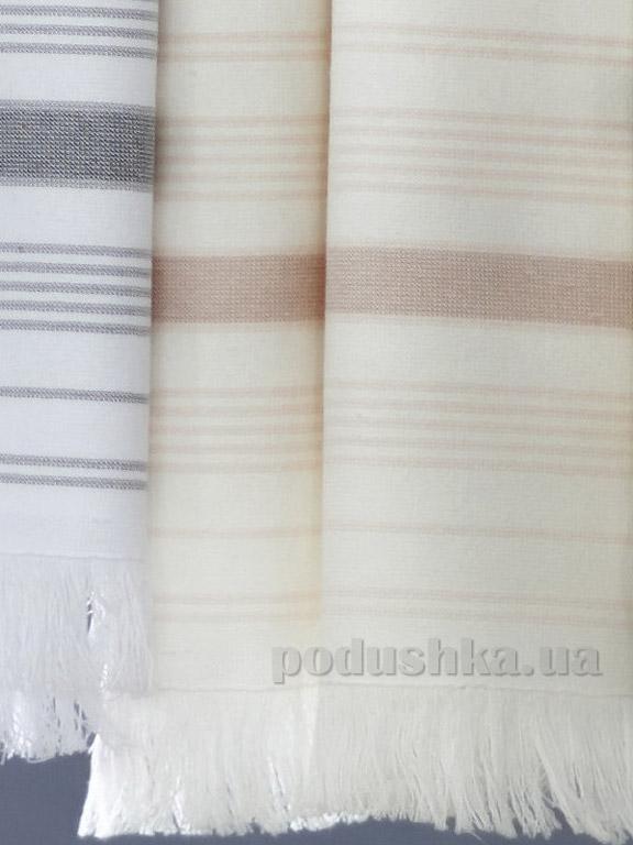 Полотенце махровое Pavia June beige бежевое