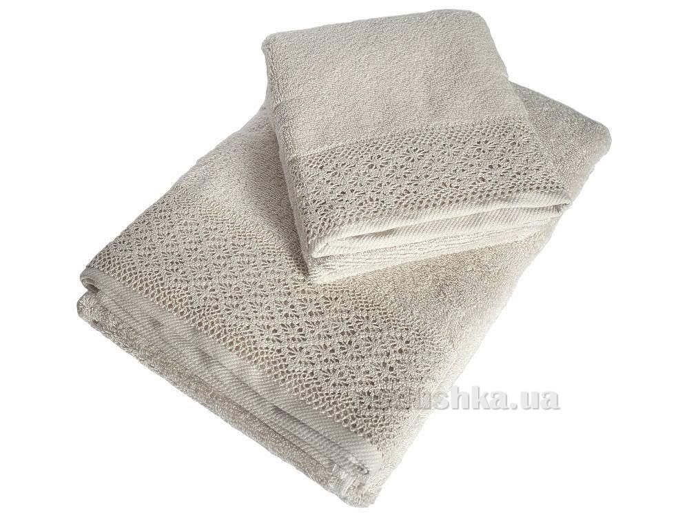 Полотенце махровое Pavia Mandy beige