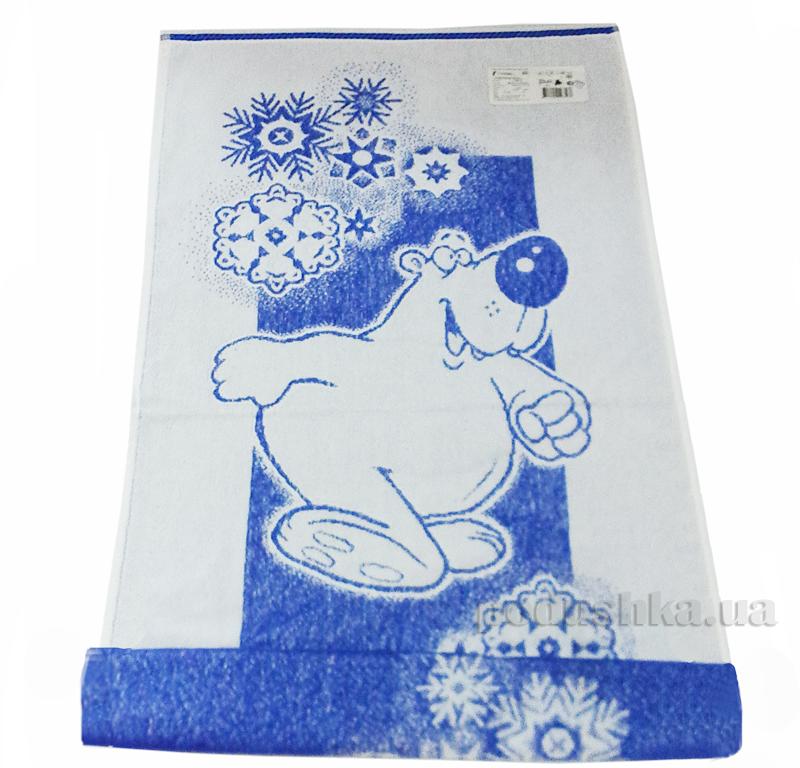 Полотенце махровое Речицкий текстиль 1с83.81 Белый мишка