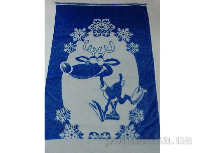 Полотенце махровое Речицкий текстиль 1с83.81 Северный олень