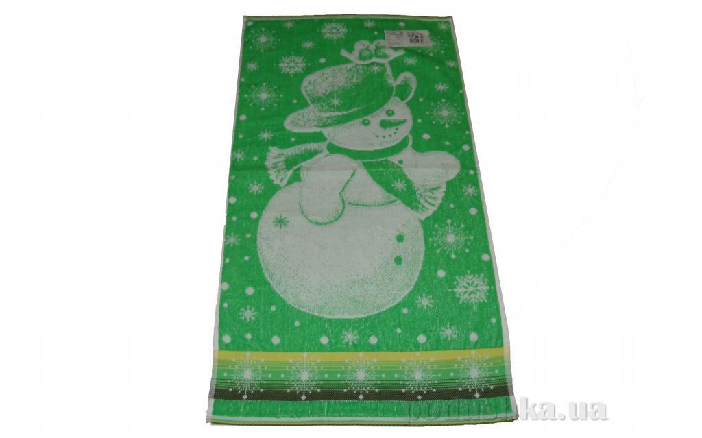 Полотенце махровое Речицкий текстиль 1с83.81 Снеговик