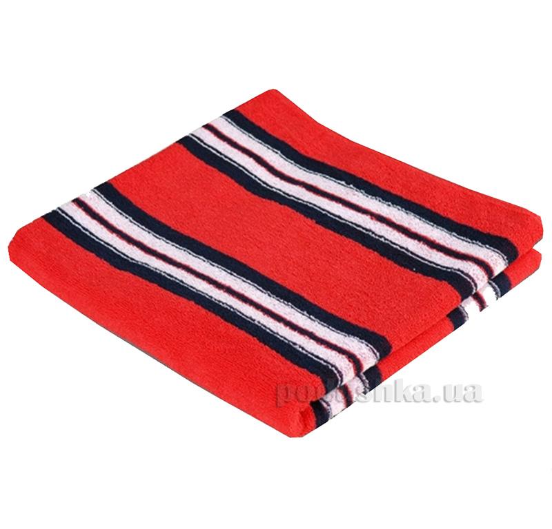 Полотенце махровое Речицкий текстиль Авангард красное