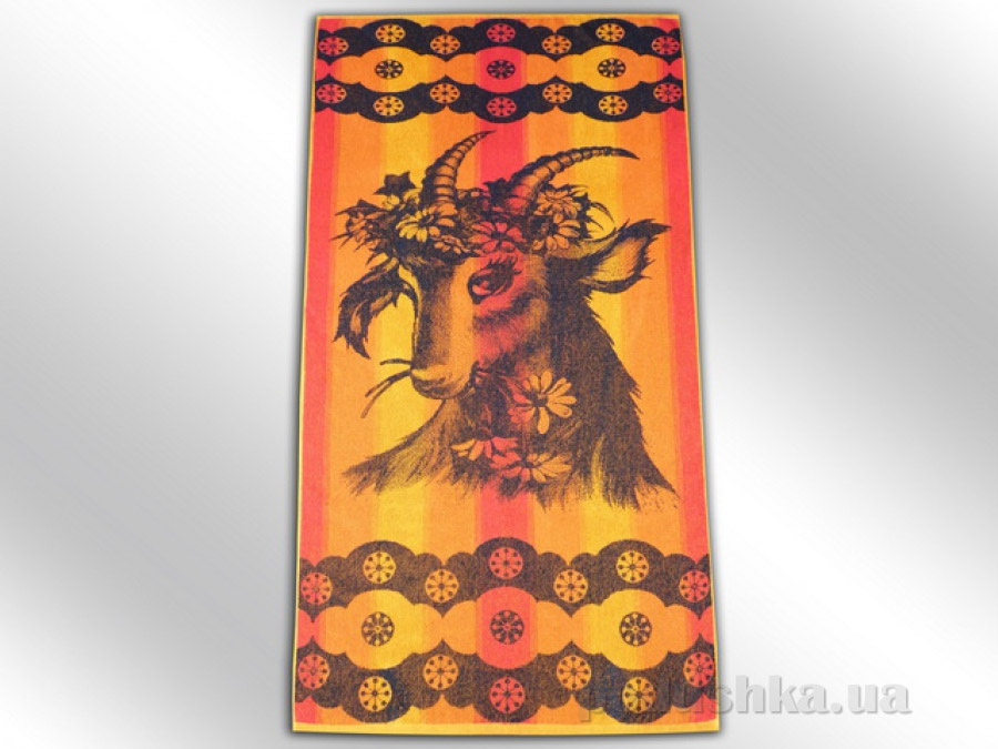 Полотенце махровое Речицкий текстиль Коза