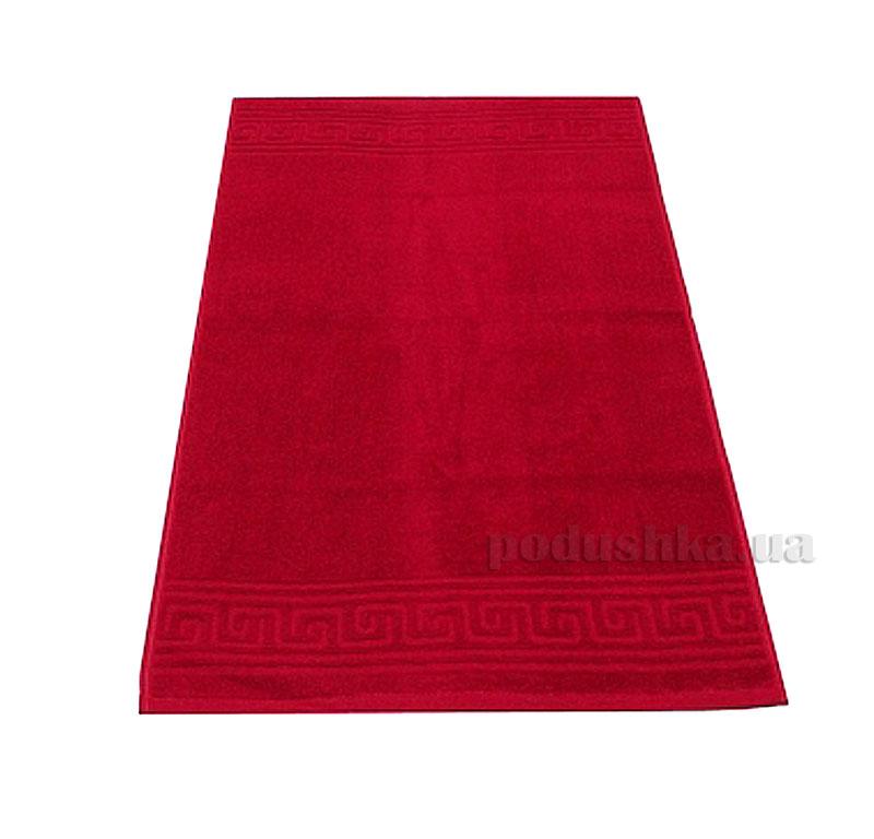 Полотенце махровое Речицкий текстиль Орнамент красное