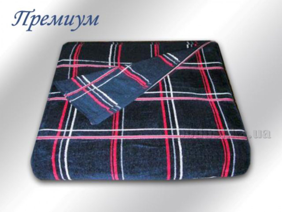 Полотенце махровое Речицкий текстиль Премиум синее