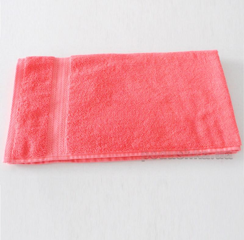 Полотенце махровое Речицкий текстиль Уют коралловое