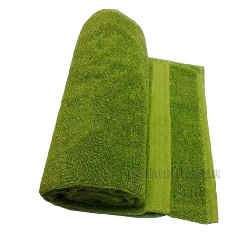 Полотенце махровое Речицкий текстиль Уют зеленое