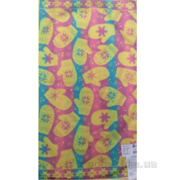 Полотенце махровое Речицкий текстиль Варежки желтое