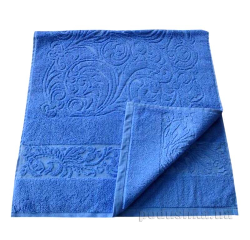 Полотенце махровое Речицкий текстиль Журавинка синее