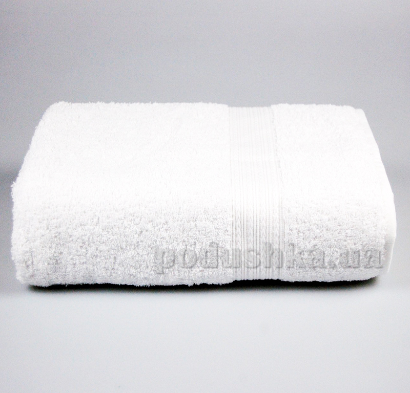 Полотенце махровое с бордюром Home line белое 114687