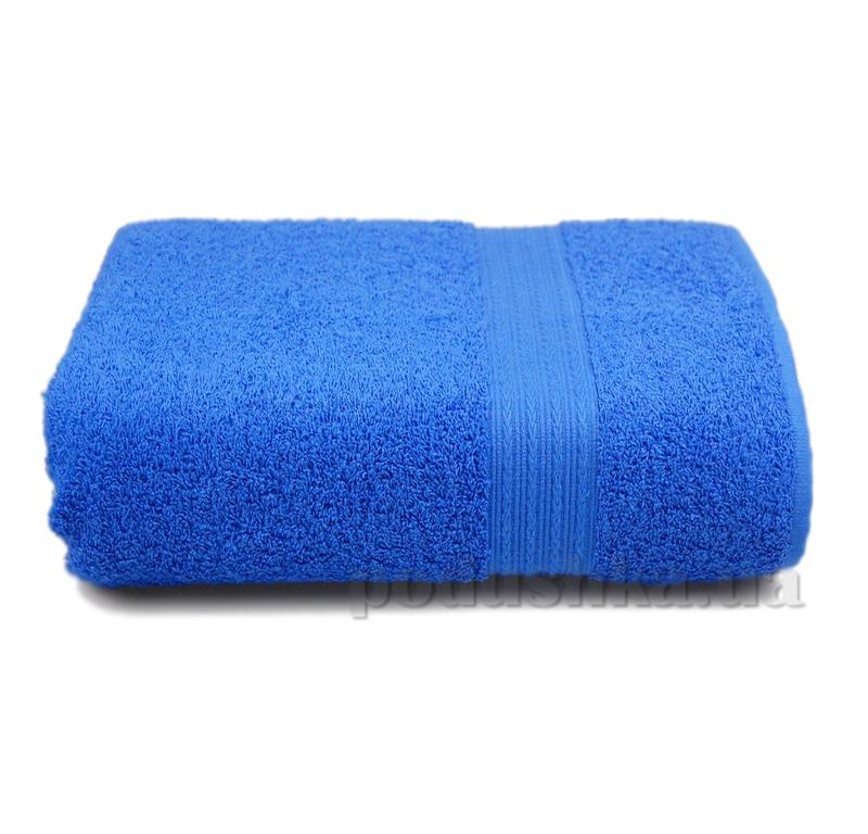 Полотенце махровое с бордюром Home line синее 114688