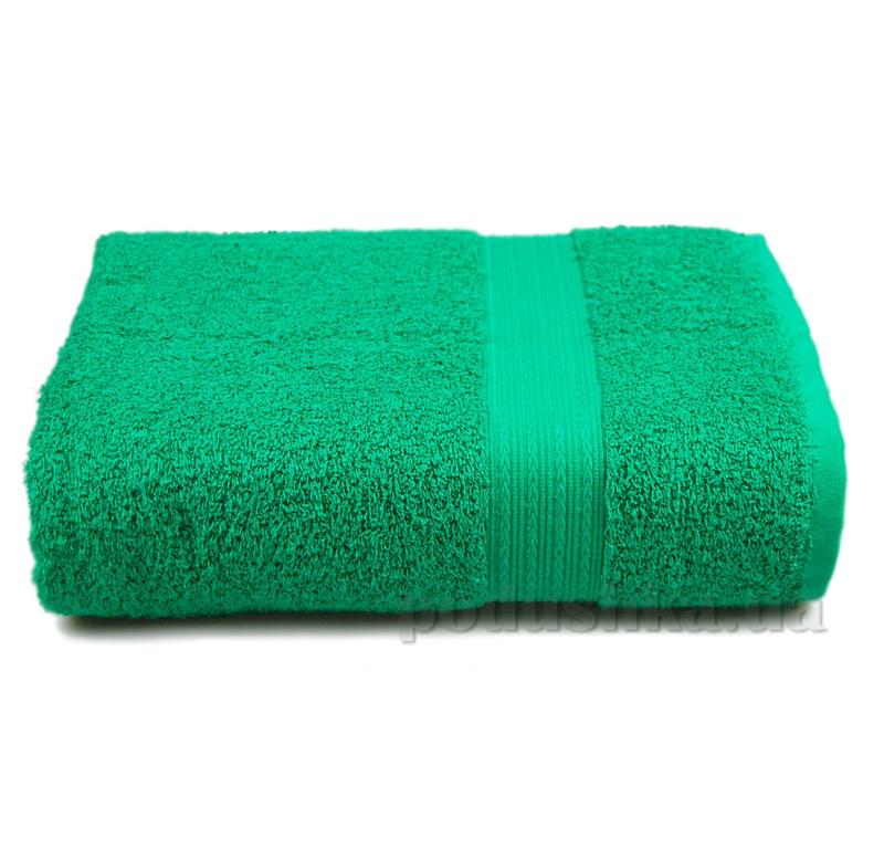 Полотенце махровое с бордюром Home line зеленое 114694