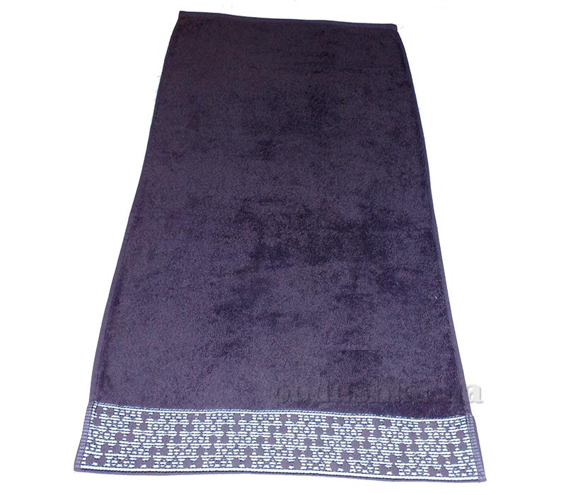 Полотенце махровое Shamrock Lykia фиолетовый