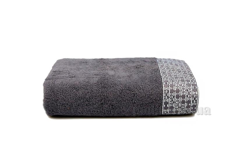 Полотенце махровое Shamrock Lykia серый