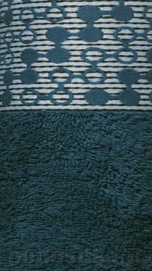 Полотенце махровое Shamrock Lykia зеленое