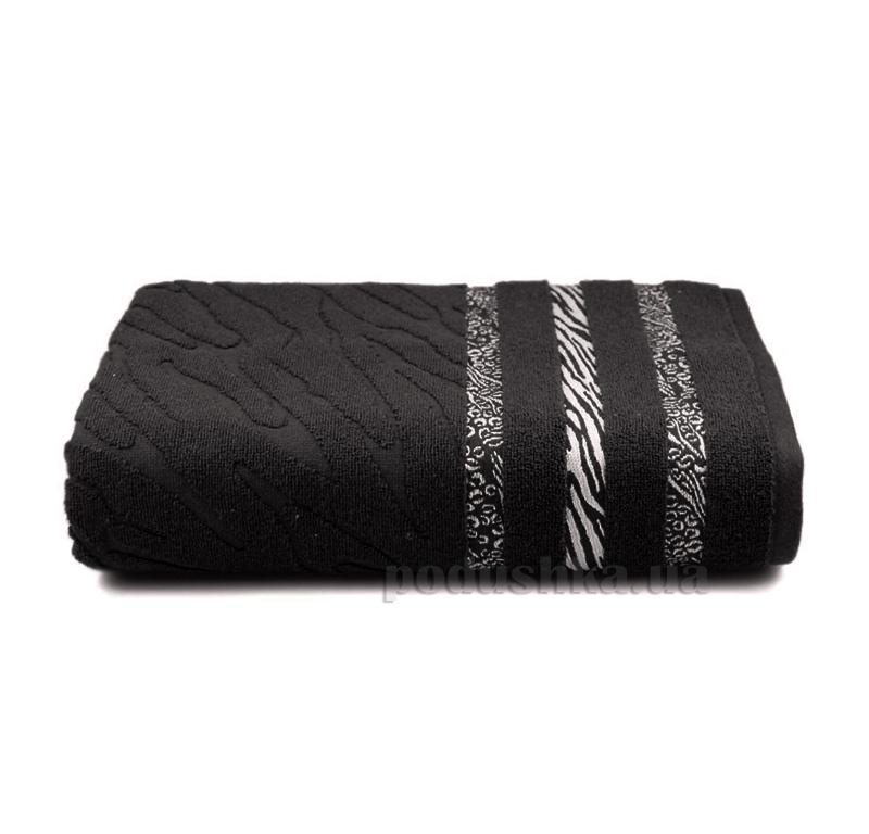 Полотенце махровое Shamrock Niobe черное