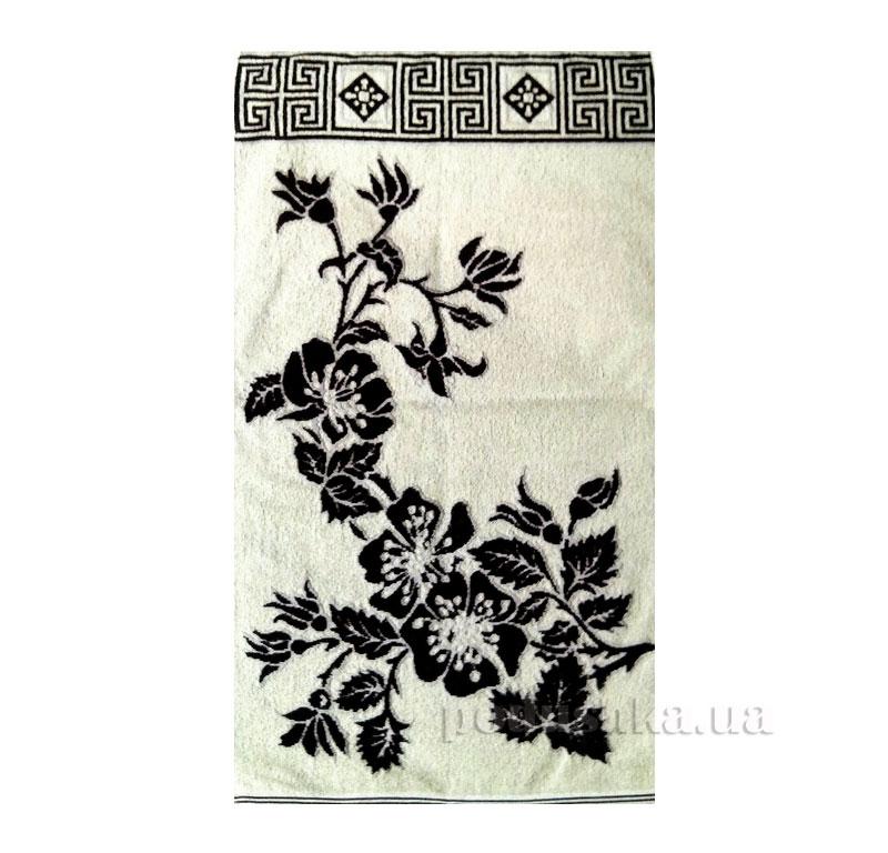 Полотенце махровое Шиповник Речицкий текстиль бежевое