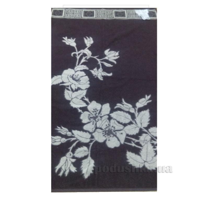 Полотенце махровое Шиповник Речицкий текстиль коричневое