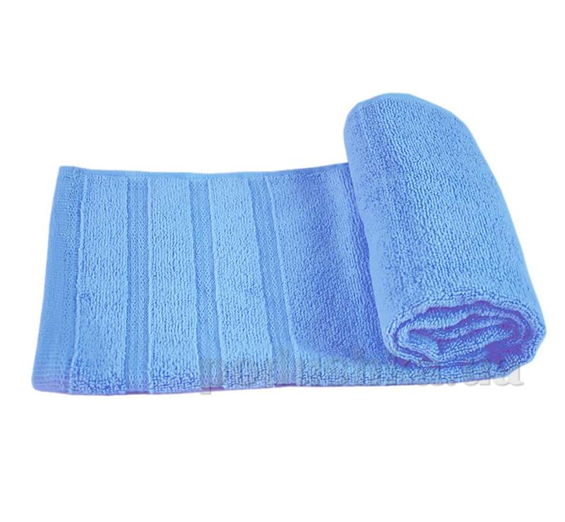 Полотенце махровое Софт Ярослав голубое