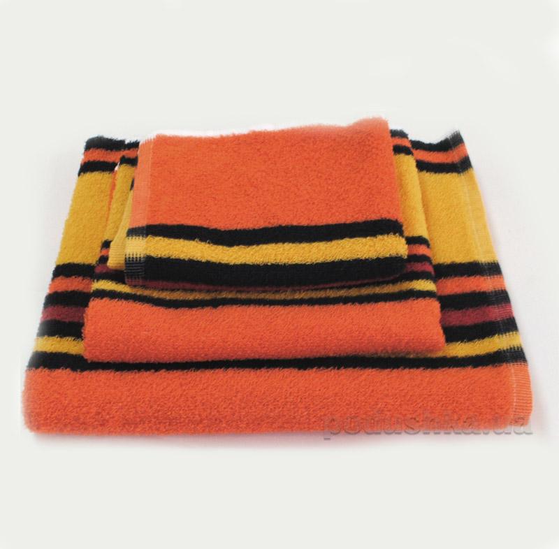 Полотенце махровое SoundSleep оранжевое