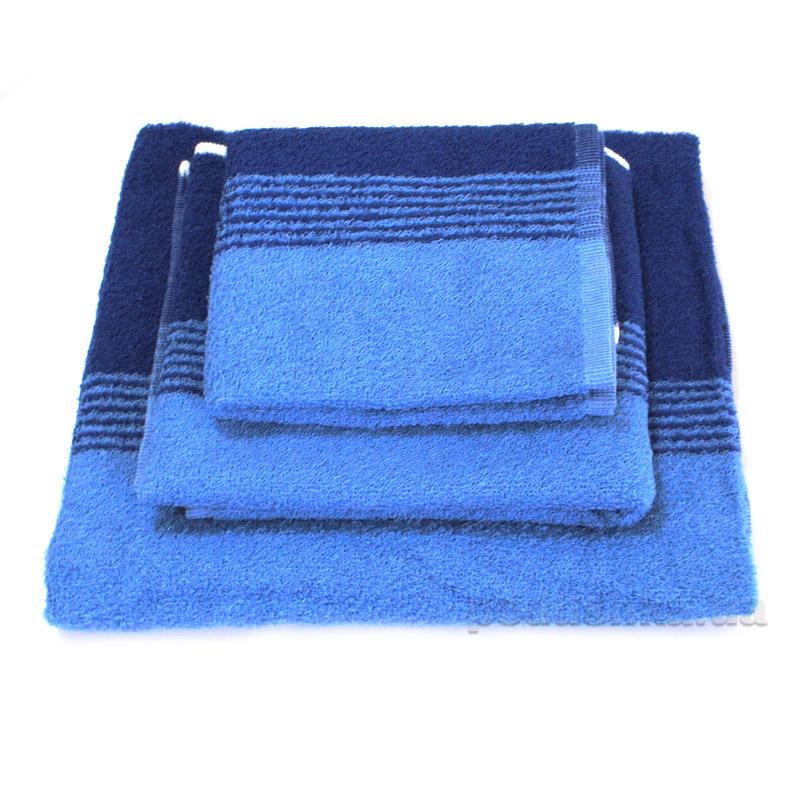 Полотенце махровое SoundSleep сине-голубое
