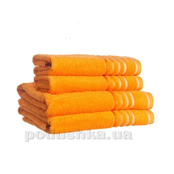 Полотенце махровое SPRING оранжевый