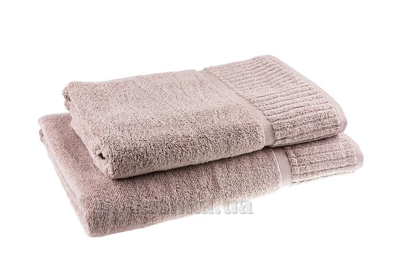 Полотенце махровое Terry Lux Super soft розовый песок