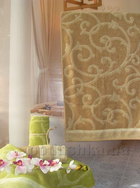 Полотенце махровое Terry Lux Версаль шампань