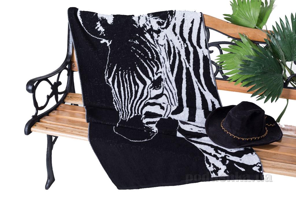 Полотенце махровое Terry Lux Зебра