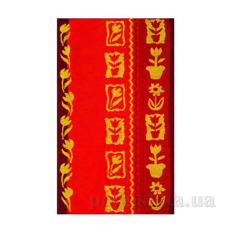 Полотенце махровое Тюльпан Ярослав красное
