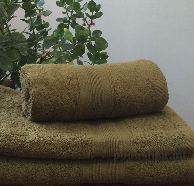Полотенце махровое 500 г Nostra оливка
