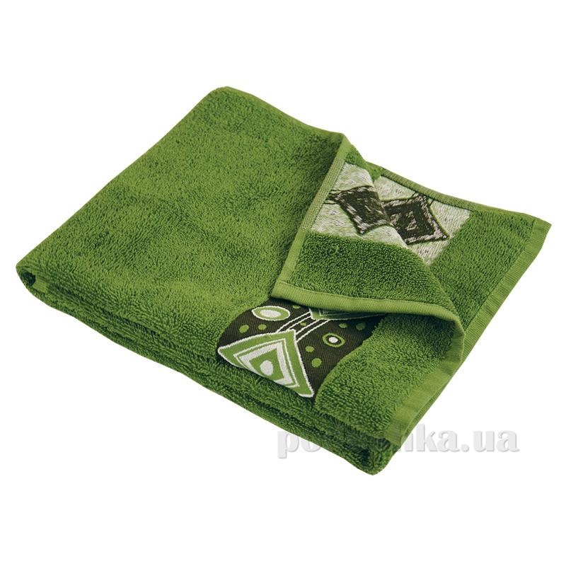 Полотенце махровое Ярослав Лайт эридан зеленое