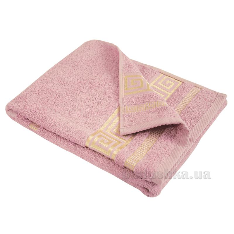Полотенце махровое Ярослав Лайт Греция розовое